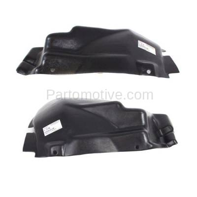 Aftermarket Replacement - IFD-1133L & IFD-1133R 03-10 Viper Front Splash Shield Inner Fender Liner Panel Left & Right SET PAIR - Image 2