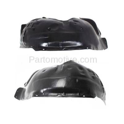 Aftermarket Replacement - IFD-1120L & IFD-1120R 08-12 Liberty Front Splash Shield Inner Fender Liner Panel Left & Right SET PAIR - Image 2