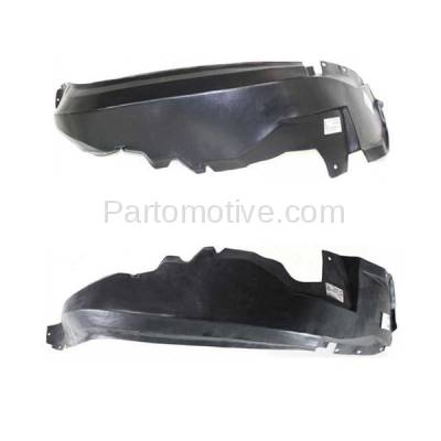 Aftermarket Replacement - IFD-1156L & IFD-1156R 93-98 Grand Cherokee Front Splash Shield Inner Fender Liner Left Right SET PAIR - Image 1