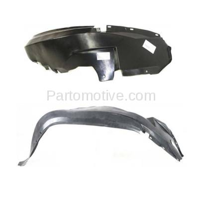Aftermarket Replacement - IFD-1156L & IFD-1156R 93-98 Grand Cherokee Front Splash Shield Inner Fender Liner Left Right SET PAIR - Image 2