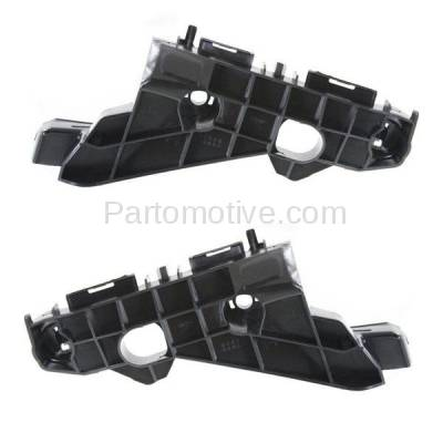 Aftermarket Replacement - BRT-1087FL & BRT-1087FR 2014-2016 Lexus IS200t, IS250, IS300, IS350 Front Bumper Cover Retainer Mounting Brace Reinforcement Support Bracket Right & Left Side - Image 1