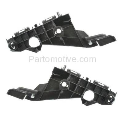 Aftermarket Replacement - BRT-1087FL & BRT-1087FR 2014-2016 Lexus IS200t, IS250, IS300, IS350 Front Bumper Cover Retainer Mounting Brace Reinforcement Support Bracket Right & Left Side - Image 2