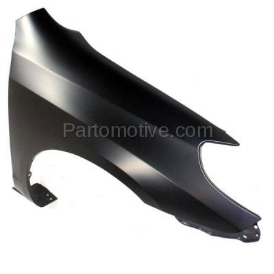 Aftermarket Replacement - FDR-1463R 2003-2008 Toyota Matrix (XR & XRS) 1.8L (Wagon 4-Door) Front Fender Quarter Panel (with Rocker Molding Holes) Primed Steel Right Passenger Side - Image 2