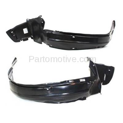 Aftermarket Replacement - IFD-1027L & IFD-1027R 90-93 Integra Front Splash Shield Inner Fender Liner Panel Left Right Side PAIR - Image 1