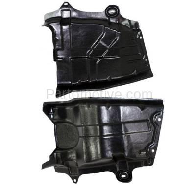 Aftermarket Replacement - ESS-1525L & ESS-1525R Front Engine Splash Shield Under Cover For 04-09 Quest Van Left & Right SET PAIR - Image 2