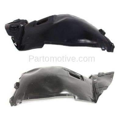 Aftermarket Replacement - IFD-1090L & IFD-1090R 07-13 3-Series Convertible & Coupe Front Splash Shield Inner Fender Liner Panel PAIR SET Left Driver & Right Passenger Side - Image 1