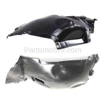 Aftermarket Replacement - IFD-1090L & IFD-1090R 07-13 3-Series Convertible & Coupe Front Splash Shield Inner Fender Liner Panel PAIR SET Left Driver & Right Passenger Side - Image 3