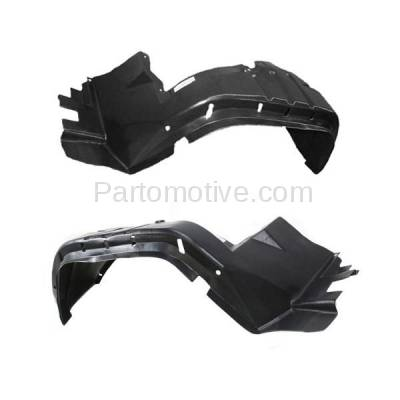 Aftermarket Replacement - IFD-1157L & IFD-1157R 97-01 Cherokee Front Splash Shield Inner Fender Liner Panel Left & Right SET PAIR - Image 3
