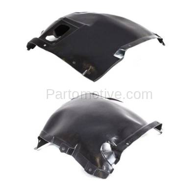 Aftermarket Replacement - IFD-1091L & IFD-1091R 07-13 3-Series Front Splash Shield Inner Fender Liner Panel Left Right SET PAIR - Image 2