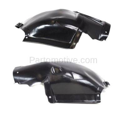 Aftermarket Replacement - IFD-1091L & IFD-1091R 07-13 3-Series Front Splash Shield Inner Fender Liner Panel Left Right SET PAIR - Image 3