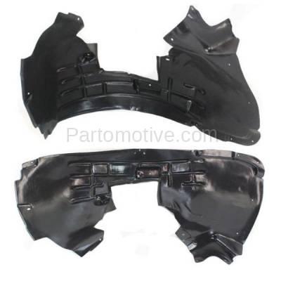 Aftermarket Replacement - IFD-1044L & IFD-1044R 09-12 Q5 Front Splash Shield Inner Fender Liner Panel Left & Right Side SET PAIR - Image 2