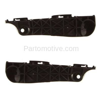 Aftermarket Replacement - BRT-1148FL & BRT-1148FR 06-12 RAV4 Front Bumper Cover Face Bar Retainer Mounting Brace Reinforcement Support Bracket SET PAIR Right Passenger & Left Driver Side - Image 1