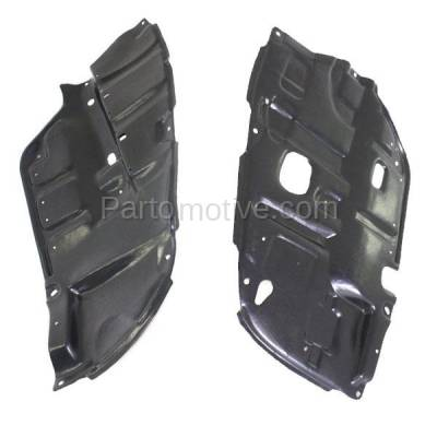 Aftermarket Replacement - ESS-1621L & ESS-1621R 04-08 Solara Front Engine Splash Shield Under Cover Guard Left & Right SET PAIR - Image 2