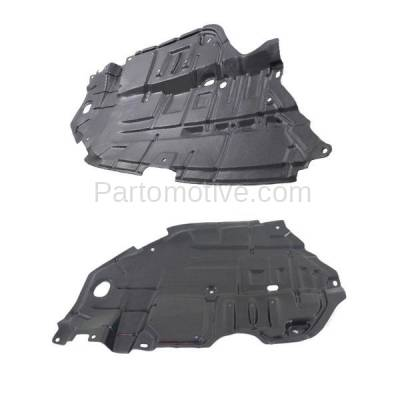Aftermarket Replacement - ESS-1606L & ESS-1606R 12 13 14 Camry Front Engine Splash Shield Under Cover Guard Right Left SET PAIR - Image 2