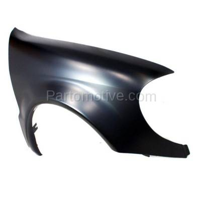 Aftermarket Replacement - FDR-1505R 2002-2005 Mercedes Benz ML-Class (3.2L 3.7L 5.0L 5.4L 5.5L V6/V8 Engine) Front Fender Quarter Panel Primed Steel Right Passenger Side - Image 2
