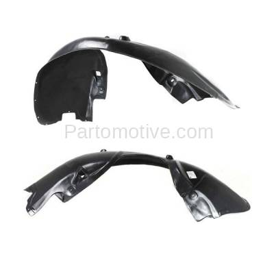 Aftermarket Replacement - IFD-1175L & IFD-1175R 05-10 300 & Charger Front Splash Shield Inner Fender Liner Left & Right SET PAIR - Image 3