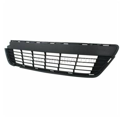 Aftermarket Replacement - GRL-2389C CAPA 12 13 14 Yaris Hatchback Front Bumper Grill Grille TO1036127 5311252260 - Image 2