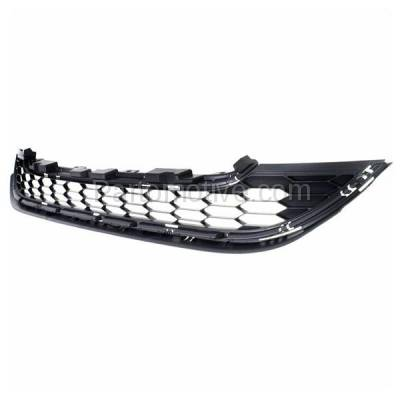 Aftermarket Replacement - GRL-1859C CAPA 10-11 CRV USA/Mexico Blt Front Lower Grill Grille HO1200205 71123SXSA01 - Image 2