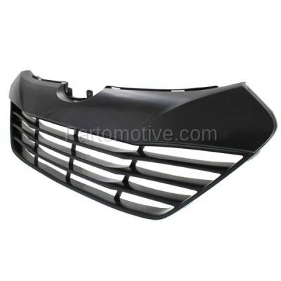 Aftermarket Replacement - GRL-1912C CAPA Front Face Bar Grill Grille Shell HY1200156 865612S000 For 10-15 Tucson - Image 2