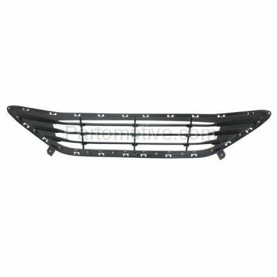Aftermarket Replacement - GRL-1889C CAPA Front Bumper Grill Grille HY1036115 865603Y000 Fits 11-13 Elantra Sedan - Image 3