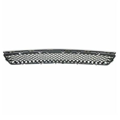 Aftermarket Replacement - GRL-1711C CAPA Chevy Tahoe Lower Grill Grille Chrome Frame Black Mesh Insert 15835084 - Image 3