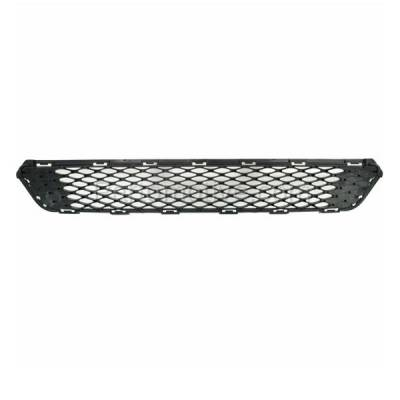 Aftermarket Replacement - GRL-1963C 2014 2015 Kia Optima (EX, EX Luxury, LX) (USA Built) Front Bumper Grille Assembly Black Honeycomb Mesh Plastic - Image 3