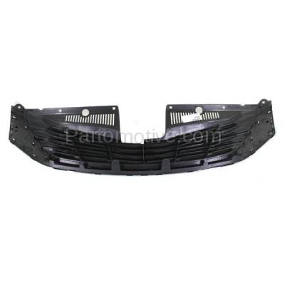 Aftermarket Replacement - GRL-2545C CAPA 11-14 Sienna LE Front Face Bar Grill Grille Chrome TO1200334 5310108080 - Image 3