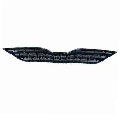 Aftermarket Replacement - GRL-2537C CAPA 10-11 Camry XLE Front Grill Grille Black/Chrome TO1200325 5310106190C0 - Image 3