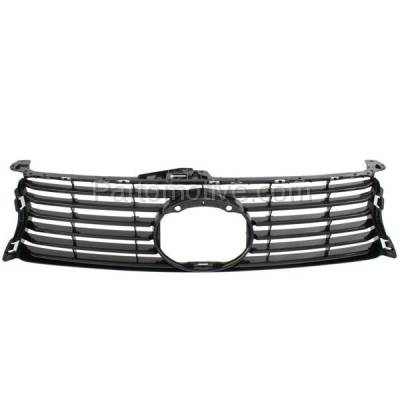 Aftermarket Replacement - GRL-2043C CAPA 13-15 GS-350/450h Front Grill Grille w/o F-Sport LX1200141 5311130D90 - Image 1