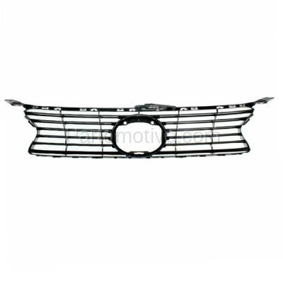 Aftermarket Replacement - GRL-2043C CAPA 13-15 GS-350/450h Front Grill Grille w/o F-Sport LX1200141 5311130D90 - Image 3