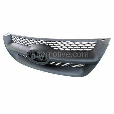 Aftermarket Replacement - GRL-1901C CAPA Front Face Bar Grill Grille Black HY1200141 863503K000 For 06-08 Sonata - Image 2