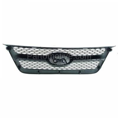 Aftermarket Replacement - GRL-1901C CAPA Front Face Bar Grill Grille Black HY1200141 863503K000 For 06-08 Sonata - Image 3