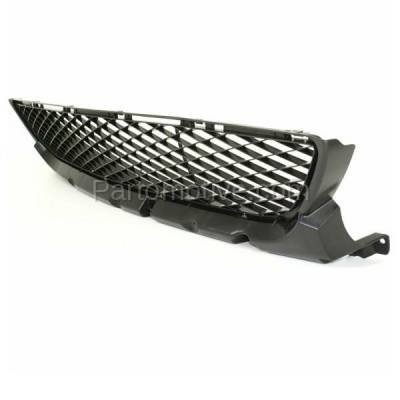 Aftermarket Replacement - GRL-2060C CAPA 07-09 Mazda3 Front Lower Bumper Grill Grille Black MA1036105 BR5H501T0 - Image 2