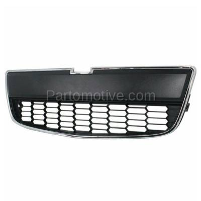Aftermarket Replacement - GRL-1543C CAPA 12-16 Chevy Sonic Front Lower Bumper Grill Grille GM1036139 95227395 - Image 2