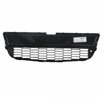 Aftermarket Replacement - GRL-1543C CAPA 12-16 Chevy Sonic Front Lower Bumper Grill Grille GM1036139 95227395 - Image 3