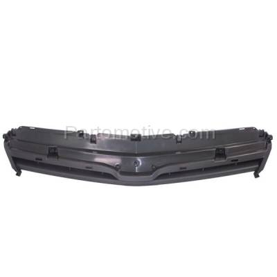 Aftermarket Replacement - GRL-1740C CAPA 08-10 Vue XE/XR Front Upper Hood Grill Grille Gray GM1200597 20789506 - Image 1
