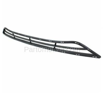 Aftermarket Replacement - GRL-1888C CAPA 11-13 Sonata Sedan Front Lower Bumper Cover Face Bar Grill Grille Assembly Textured Gray Plastic - Image 2