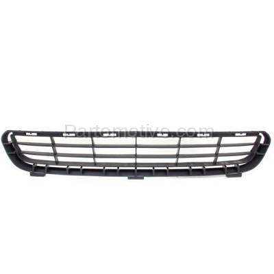 Aftermarket Replacement - GRL-2366C CAPA 07-09 Camry Front Lower Bumper Grill Grille Black TO1036103 5311206010 - Image 1