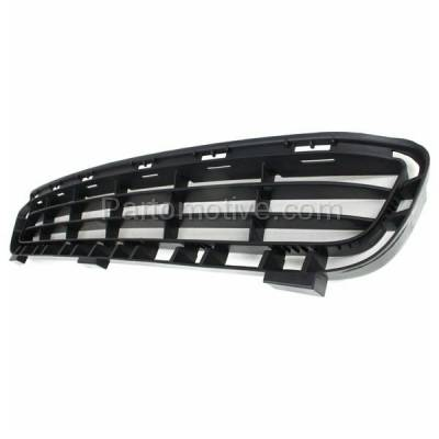 Aftermarket Replacement - GRL-2366C CAPA 07-09 Camry Front Lower Bumper Grill Grille Black TO1036103 5311206010 - Image 2