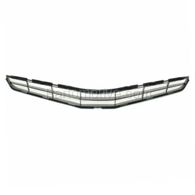 Aftermarket Replacement - GRL-2538C CAPA 10-11 Camry Hybrid Front Grill Grille Gray Shell TO1200327 5311433010 - Image 3