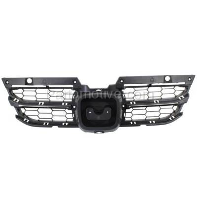 Aftermarket Replacement - GRL-1874C CAPA 11-12 Accord Coupe 2DR Front Grill Grille Insert HO1223103 71124TE0A11 - Image 1