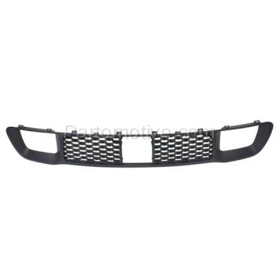 Aftermarket Replacement - GRL-1223C CAPA 14-16 Grand Cherokee Lower Front Bumper Grille Face Bar Insert Grill Gray Textured - Image 1