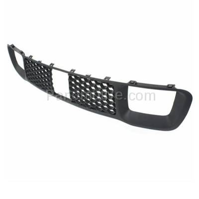Aftermarket Replacement - GRL-1223C CAPA 14-16 Grand Cherokee Lower Front Bumper Grille Face Bar Insert Grill Gray Textured - Image 2