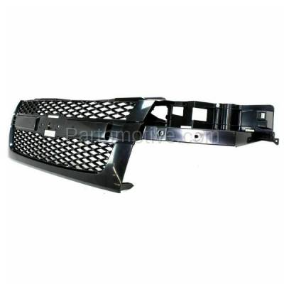 Aftermarket Replacement - GRL-1716C CAPA 04-12 Chevy Colorado Front Grill Grille Gray Shell GM1200560 12335790 - Image 2