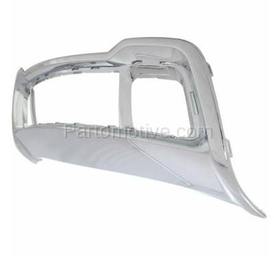 Aftermarket Replacement - GRL-1225C CAPA 14-15 Grand Cherokee Front Bumper Face Bar Frame Grill Grille CH1037107 - Image 2