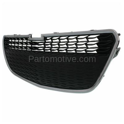 Aftermarket Replacement - GRL-1783C CAPA 13-15 Chevy Spark Lower Front Grill Grille w/o-Fog GM1200656 95078756 - Image 2