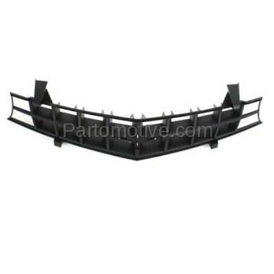 Aftermarket Replacement - GRL-1758C CAPA 10-13 Chevy Camaro Front Face Bar Grill Grille Black GM1200620 92243533 - Image 3