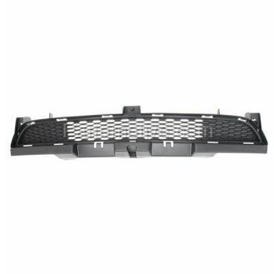 Aftermarket Replacement - GRL-1213C CAPA 11-14 Charger Lower Front Bumper Insert Face Bar Grill Grille CH1036113 - Image 1