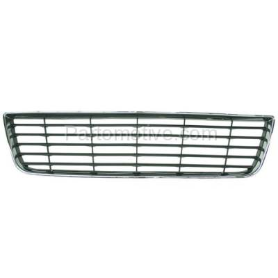 Aftermarket Replacement - GRL-1515C CAPA 06-11 Chevy Impala Front Lower Bumper Grill Grille GM1036106 10333711 - Image 1