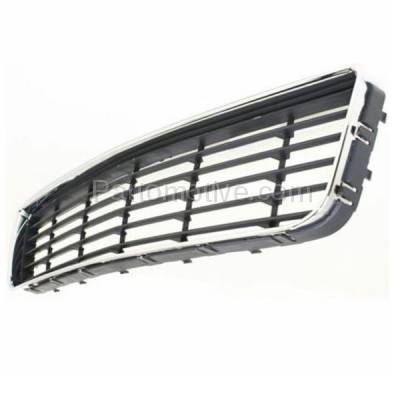 Aftermarket Replacement - GRL-1515C CAPA 06-11 Chevy Impala Front Lower Bumper Grill Grille GM1036106 10333711 - Image 2